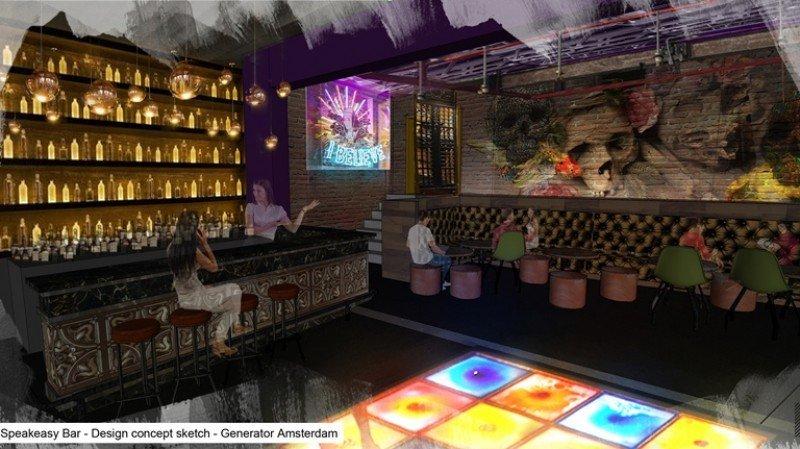 En los hostels de Generator se presta especial atención a los espacios donde socializan sus clientes. En la imagen, el Generator Amsterdam.