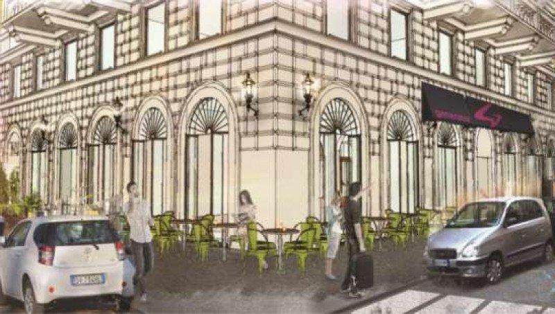 El Generator Roma se ubica en un edificio residencial de 1900 próximo al Coliseo.