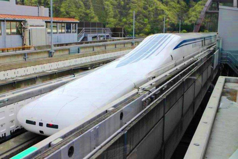 VÍDEO Un tren bala japonés bate record mundial de velocidad superando los 600 Km/h