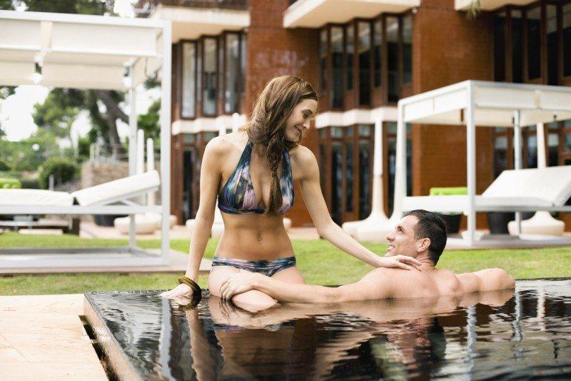 El hotel Meliá de Mar, en Mallorca, es uno de los 16 establecimientos sólo para adultos con los que cuenta la cadena, cifra que prevé incrementar.