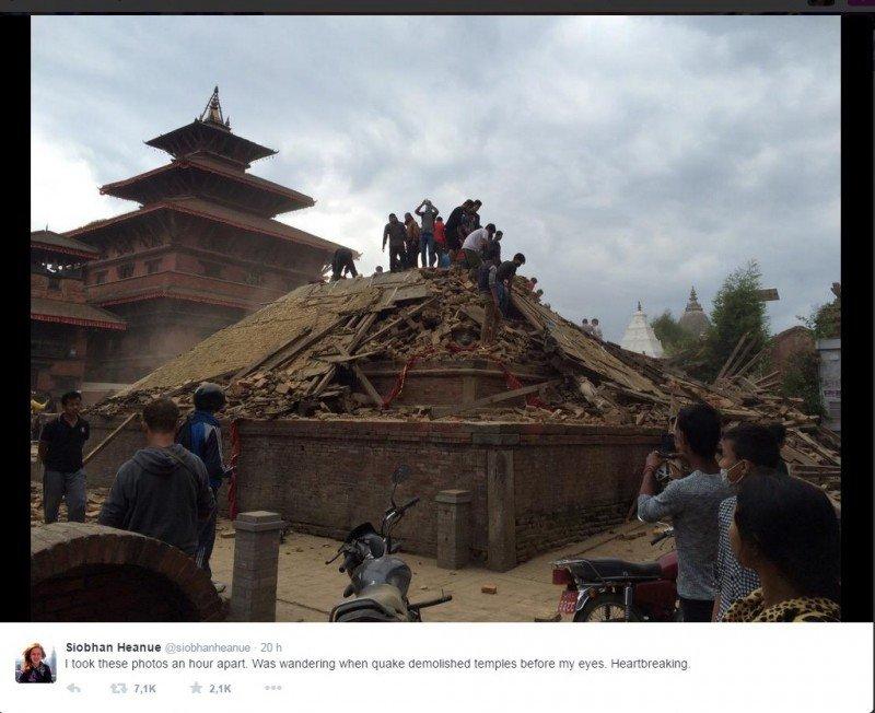 Terremoto en Nepal: 3.200 fallecidos y sector turístico colapsado
