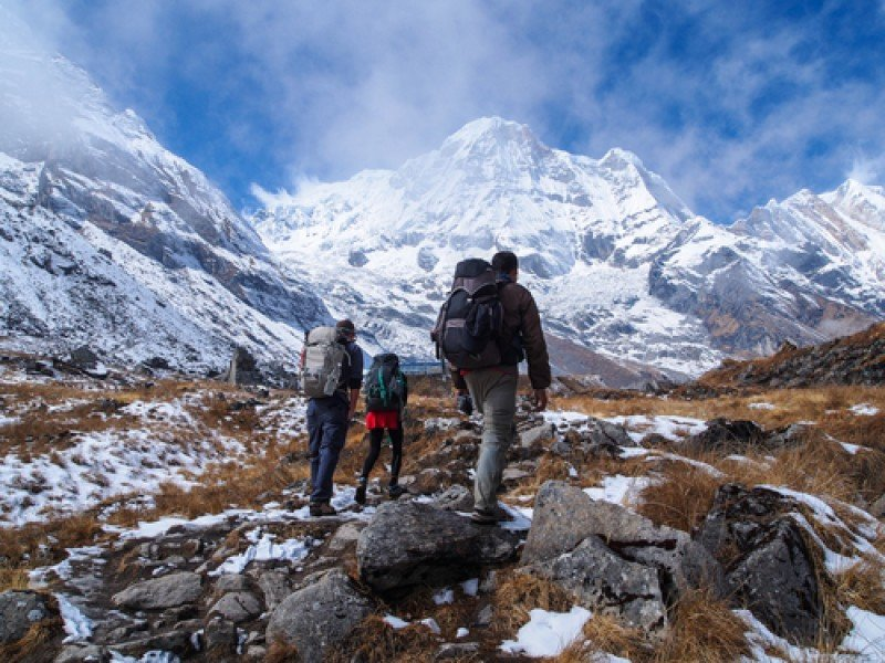 La temporada turística en Nepal había comenzado hace pocas semanas y en el país hay miles de turistas amantes del senderismo y el montañismo. #shu#