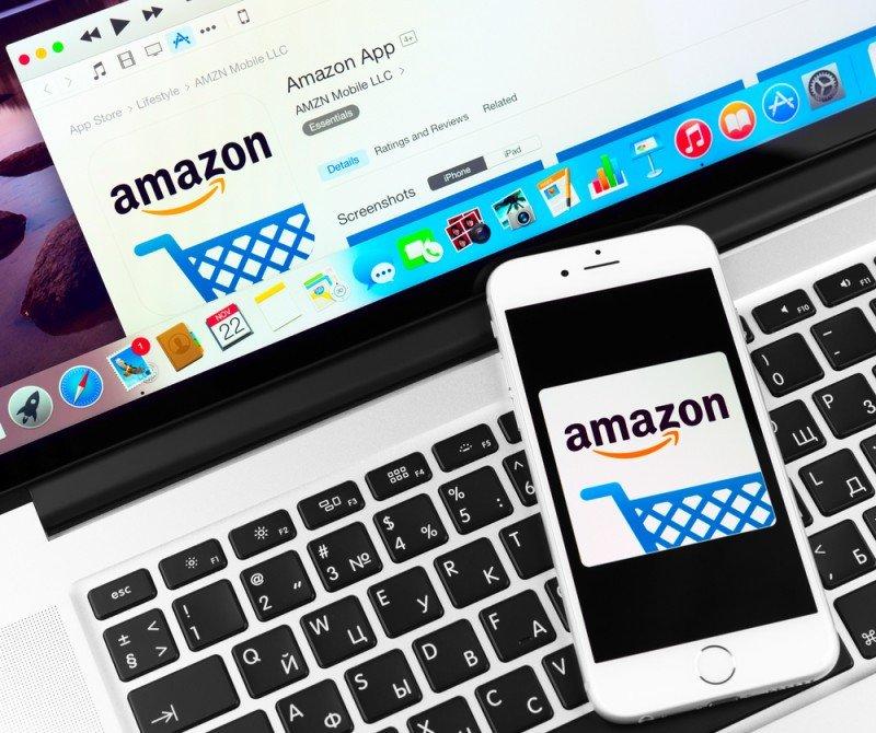 La nueva web de Amazon está disponible para ordenadores y en sus apps para móviles. Yeamake / #shu#
