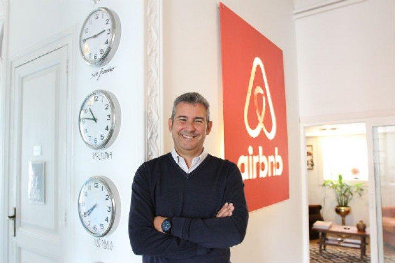 Arnaldo Muñoz es el nuevo director general de Airbnb para España y Portugal.