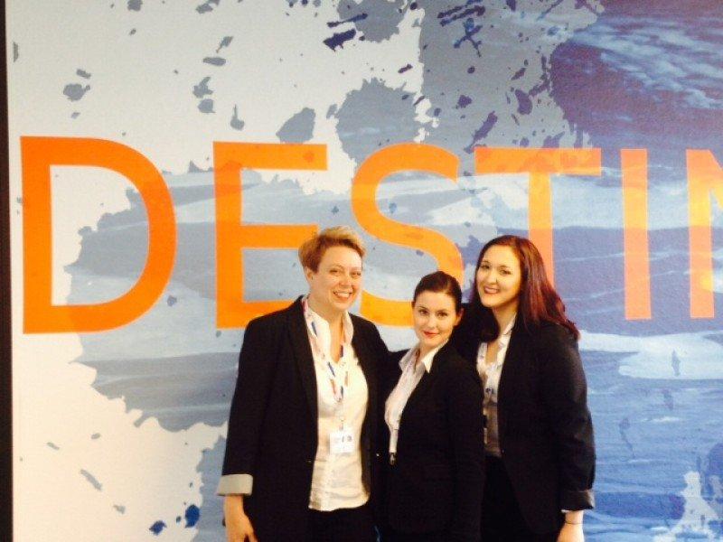 María Gudiel, Sandra Méndez e Irene Pérez-Bosch integran el equipo español premiado.