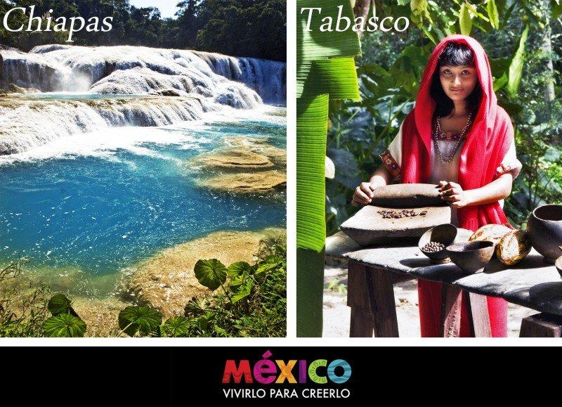 Webinar: Conoce México III: Chiapas y Tabasco