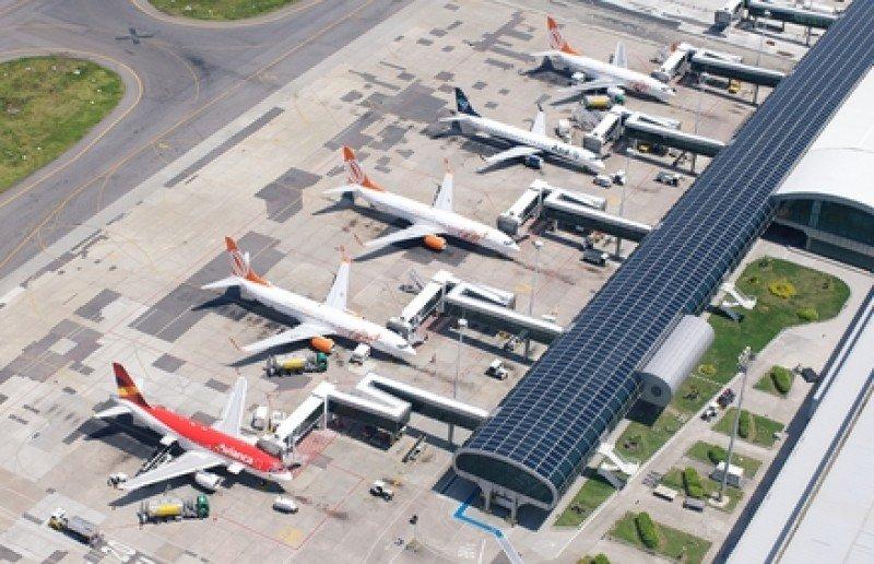 Aeropuerto Santos Dumont de Rio de Janeiro. #shu#