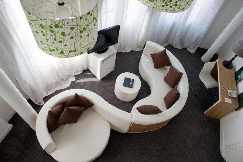 Los lofts son espaciosos y con un original diseño.