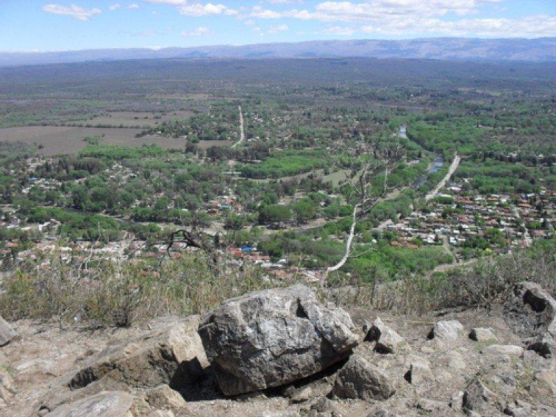 Paisaje de Santa Rosa de Calamuchita, provincia de Córdoba. #shu#