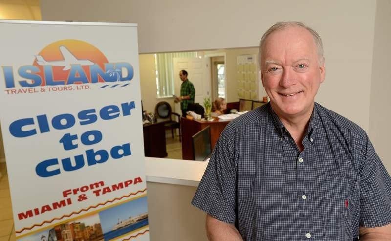 Bill Hauf, presidente de Island Travel