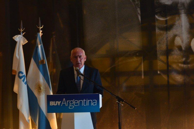 Enrique Meyer en la presentación del Buy Argentina 2015.