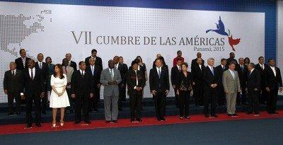 La Cumbre de las Américas de Panamá reunió por primera vez a los 35 gobiernos del hemisferio.