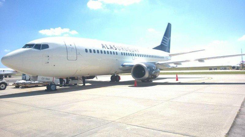 El primer avión arrendado está en Uruguay desde marzo, atravesando las instancias de certificación.