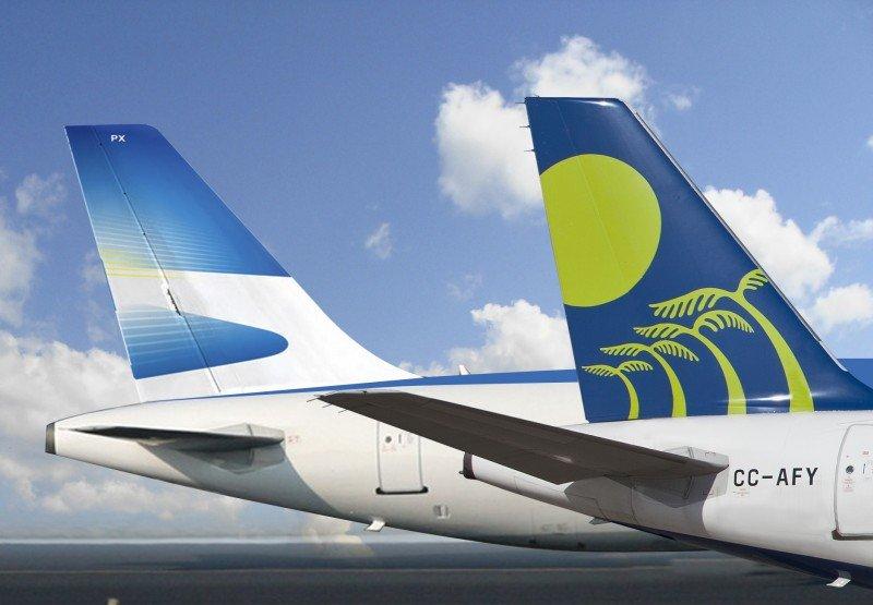 Firman código compartido entre Aerolíneas Argentinas y Sky Airline