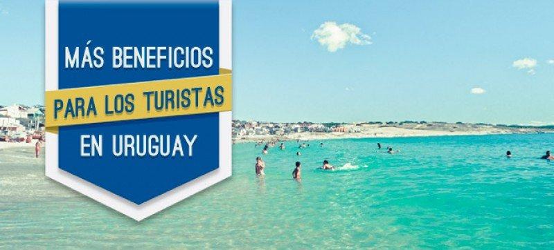 Amplían hasta julio de 2016 los beneficios fiscales a turistas en Uruguay