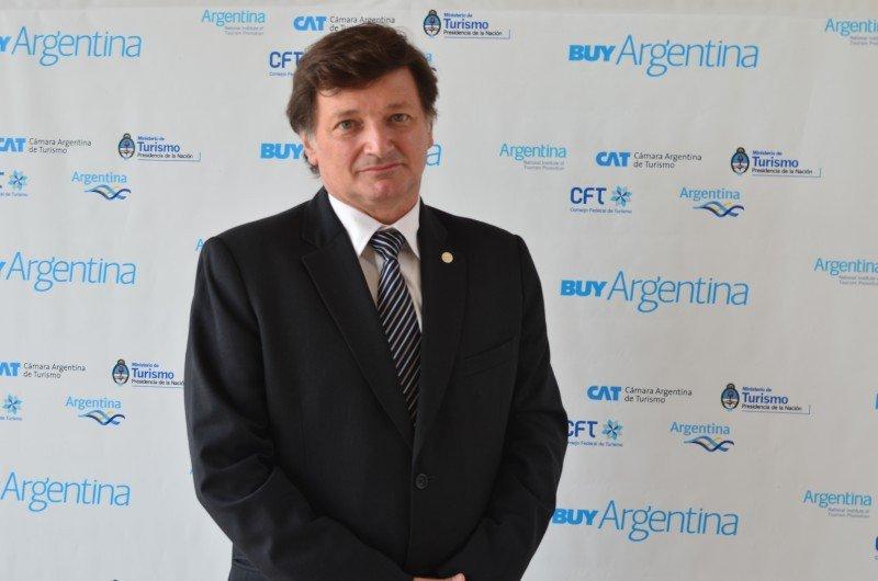 Horacio Repucci, secretario de CAT.