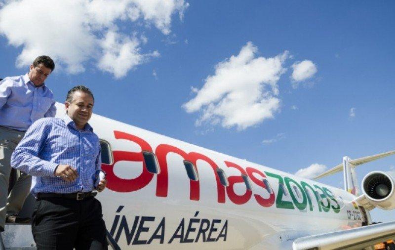 Directivos de Amaszonas concretaron acuerdo con BQB.
