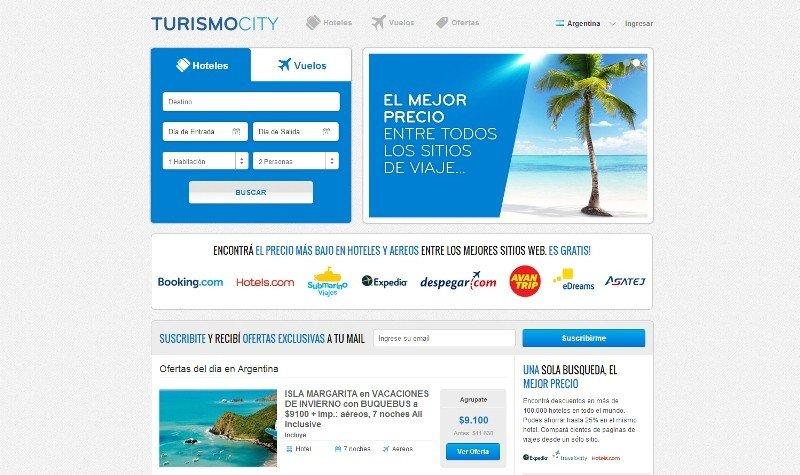 Lanzan nuevo comparador de viajes Turismocity