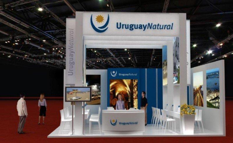 Stand de Uruguay en WTM Latin America.