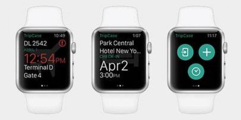 Aplicación TripCase estará disponible para Apple Watch