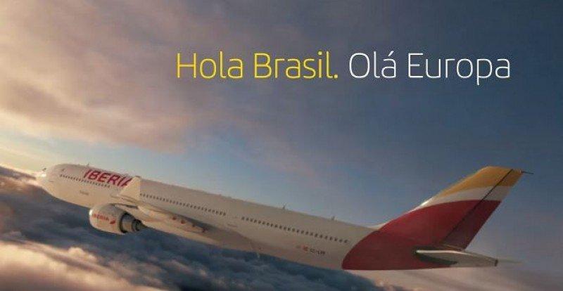 'Hola Brasil. Olá Europa' es la nueva marca de Iberia en el país sudamericano.