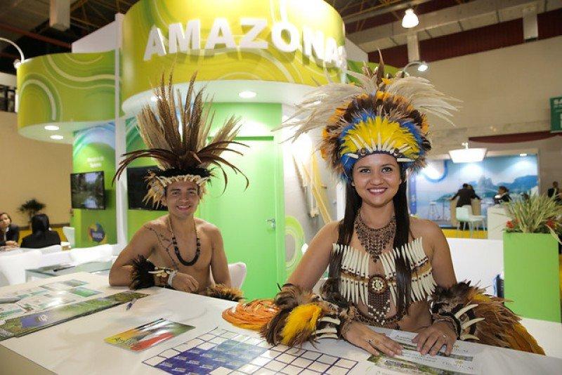 Representantes del estado brasileño de Amazonas.