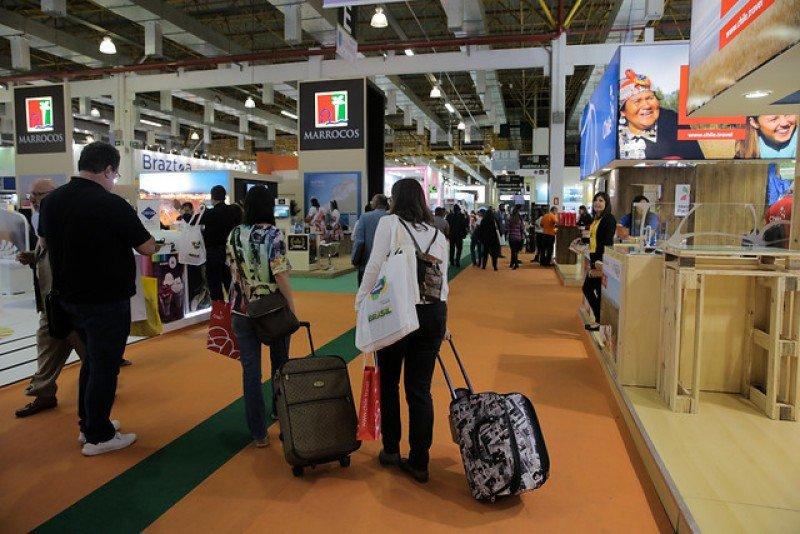 Aumentaron los visitantes y los expositores en el Expo Center Norte de Sao Paulo.