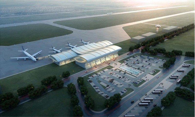 Proyecto del futuro aeropuerto hondureño.