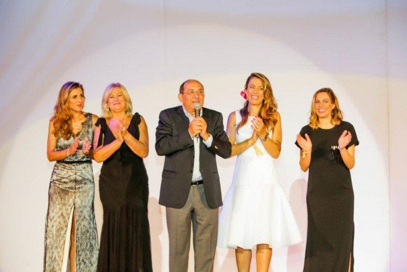 La familia Piñero, en el evento de celebración del 20 aniversario del Grupo en República Dominicana.