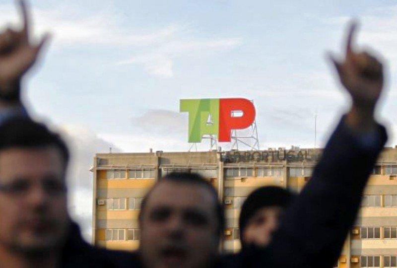 El sindicato de pilotos de TAP desmiente la convocatoria de nuevas huelgas (Foto de archivo, de anteriores protestas de trabajadores de TAP).