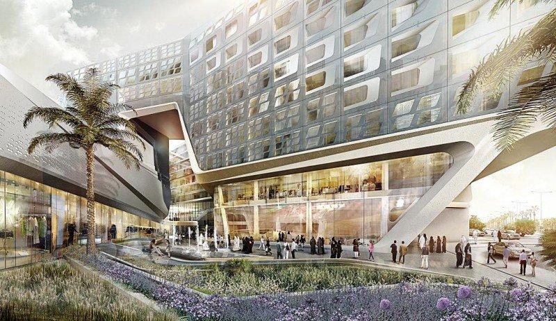 El ME Doha se integrará en un complejo mixto que incluirá un macro centro comercial, salas de cines e instalaciones de ocio al aire libre.
