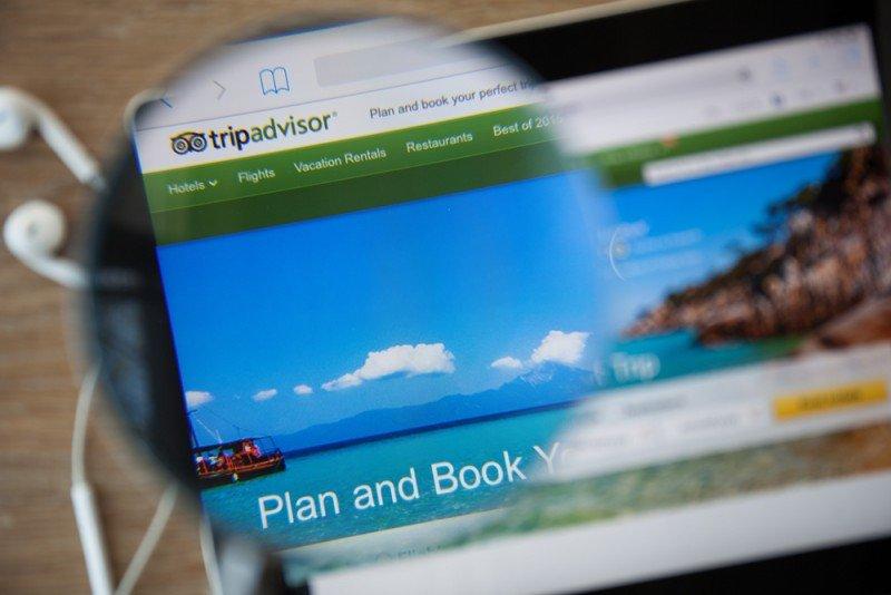 TripAdvisor recogió 225 millones de valoraciones en el trimetre. #shu#.