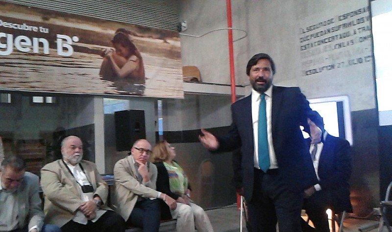 Gabriel Subías durante la presentación de B the travel Brand.