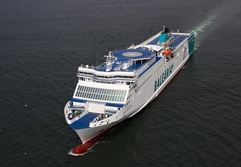 Baleària pide a EEUU licencia para operar con Cuba (Foto de archivo: ferry Abel Matute).