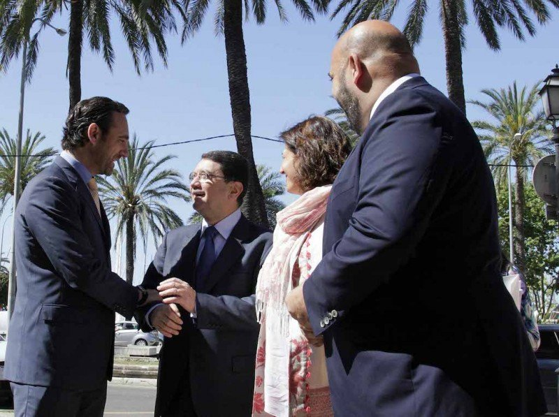 De izquierda a derecha: José Ramón Bauzà, Taleb Rifai, Isabel Borrego y Jaime Martínez.
