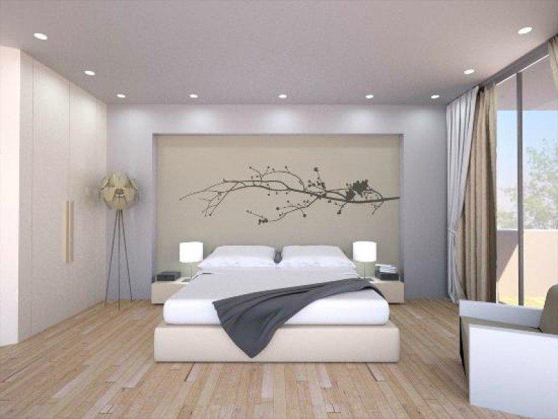 Una de las 64 habitaciones del hotel Jardín de Bellver.