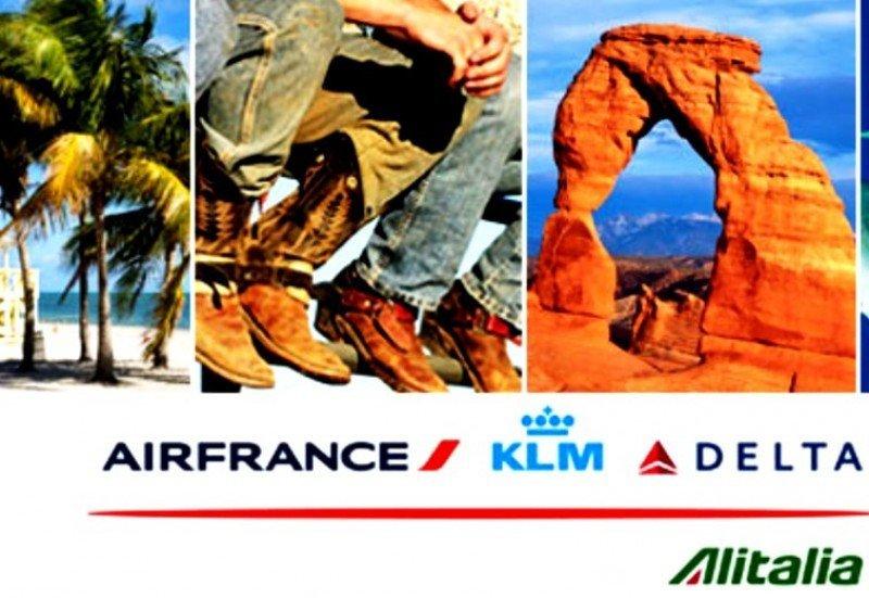 Autorizan la joint venture de Air France KLM, Alitalia y Delta para rutas transatlánticas