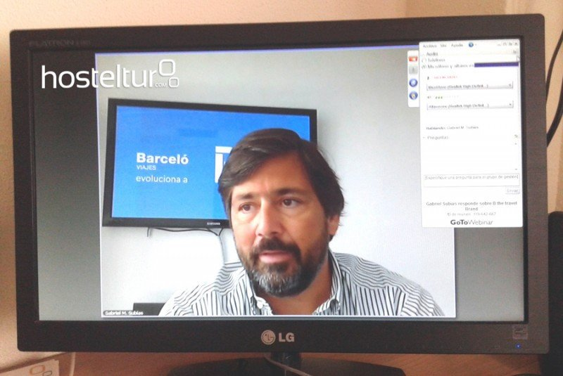 Gabriel Subías, CEO de Viajes Barceló, respondiendo a los lectores de HOSTELTUR.