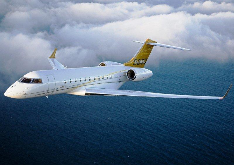 El Bombardier Global  5000, uno de los modelos que sufrirá un recorte de producción.