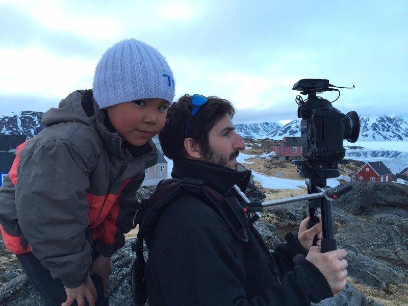 Uno de los niños que participa en el documental.