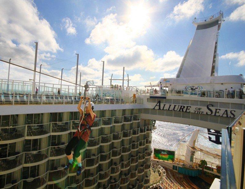 El Allure of the Seas generará en España 27 M € esta temporada