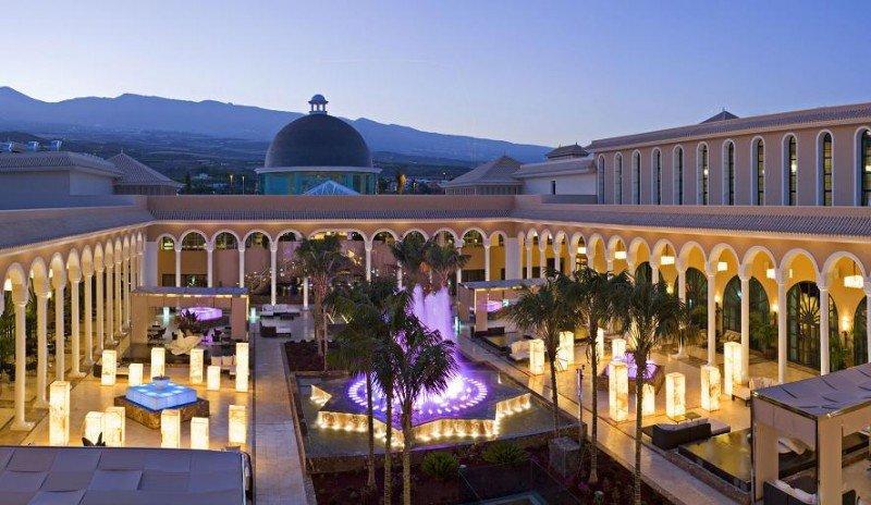 Meliá destaca con 58 Certificados de Excelencia en el Salón de la Fama. En la imagen, el Gran Meliá Palacio de Isora.
