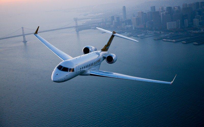 Modelo Bombardier Global 6.000, cuya tasa de producción ha sido recortada por la caída de las ventas, especialmente en los mercados de Rusia, China y Latinoamérica.