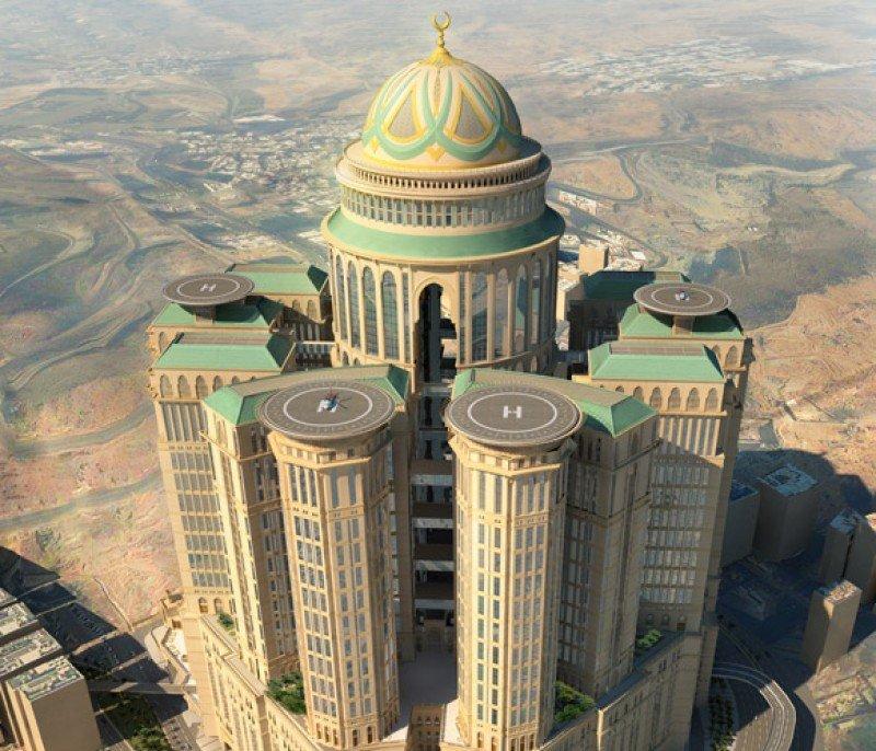 Imagen del que está llamado a convertirse en el hotel más grande del mundo, gracias a sus 10.000 habitaciones.
