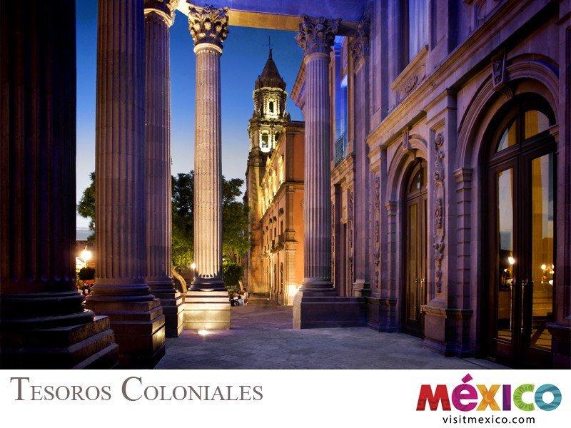 Webinar: Conoce México V: Tesoros coloniales de México