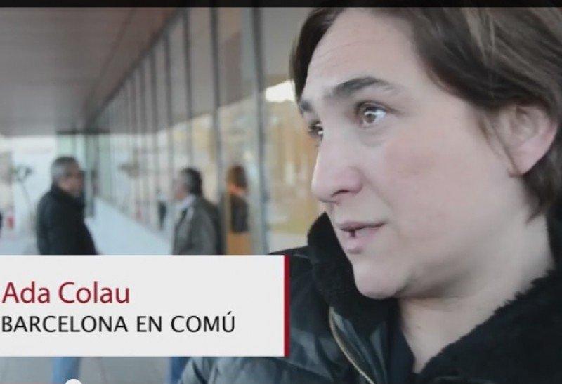 Ada Colau será la nueva alcaldesa de Barcelona.