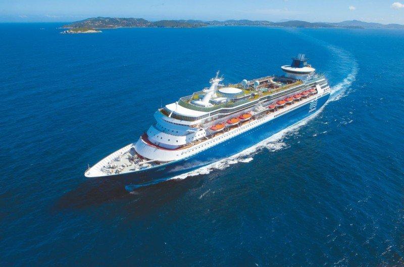 El barco Sovereign, de Pullmantur.