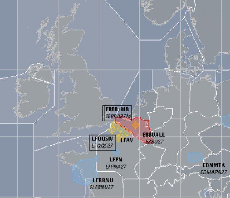 Bruselas reanuda el tráfico aéreo progresivamente