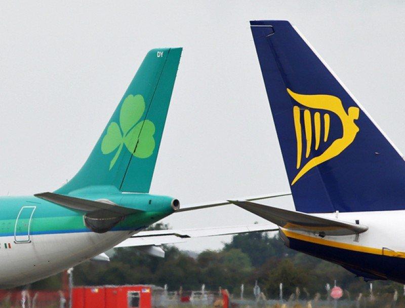 Ryanair tiene bloqueadas sus acciones en Aer Lingus y no puede decidir sobre su venta