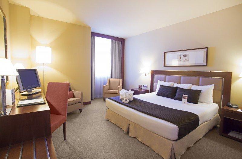 Hotel Nuevo Madrid.
